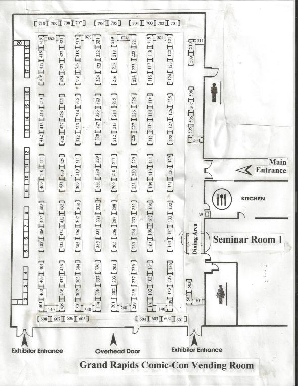 vendor floor plan